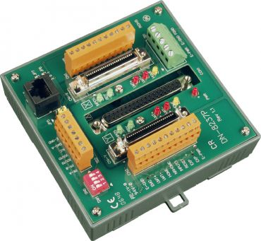 Photo-isolated terminal board for ICPDAS two-axis stepper/servo controller