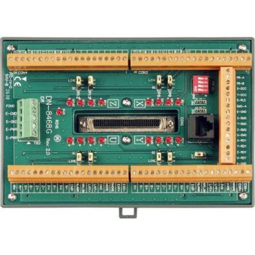 Photo-isolated terminal board for ICPDAS four-axis stepper/servo controller
