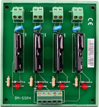 4-channel AC-type Form-A Solid State Relay module