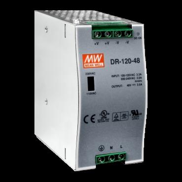 48 V/2.5 A, 120 W Single Output Industrial DIN Rail Power Supply