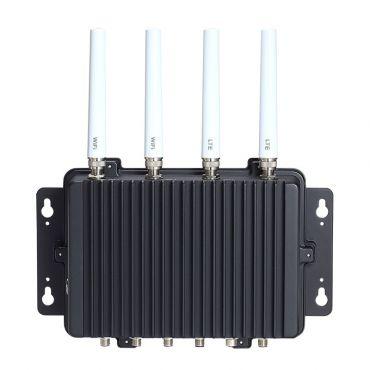 eBOX800-511-FL IP67-rated Fanless Embedded System with Intel Core™ i5-7300U/Celeron® 3965U, VGA, 1 GbE LAN, 2 USB, 2 COM and 9 ~ 36 VDC