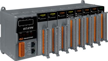 Intelligent Ethernet I/O expansion unit with 8 ports