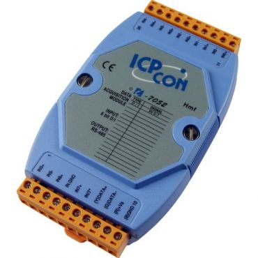 8-channel Isolated Digital Input Module with 16-bit Counters