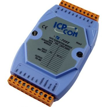 8-channel 80-250VAC Isolated Digital Input Module with 16-bit Counters