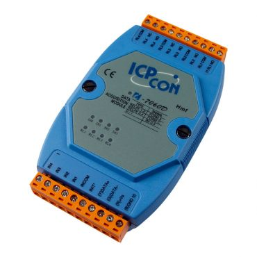4-channel Isolated Digital Input and 4-channel Relay Output Module with 16-bit Counters and LED Display