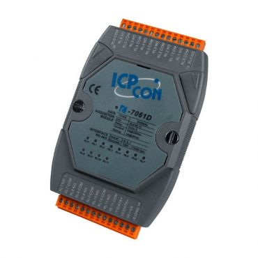 I-7061D 12-channel Relay Output Module with LED Display (RoHS)