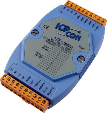 8-channel Isolated Digital Input and 3-channel DC SSR Output Module with 16-bit Counters