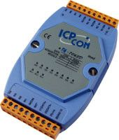 8-channel Isolated Digital Input and 3-channel Relay Output Module with 16-bit Counters and LED Display