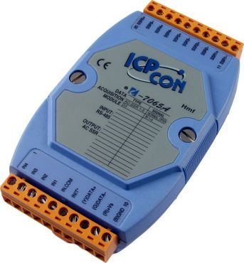 4-channel Isolated Digital Input and 5-channel AC SSR Output Module with 16-bit Counters