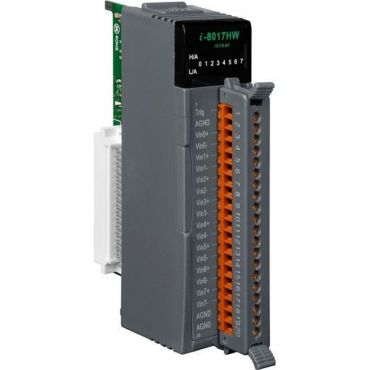 14-bit 100K sampling rate 8/16-channel analog input module