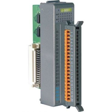 16-channel Non-isolation Digital Input Module (Gray Cover)