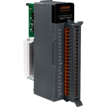 4-channel Isolated Digital Input and 4-channel Relay Output Module