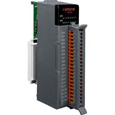 16-channel source type Isolated Digital Output Module