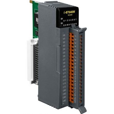 16-channel Non-Isolated Digital Input Module for Long Distance Measurement with 16-bit Counters