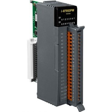 16-channel Isolated Digital Input Module with 16-bit Counters