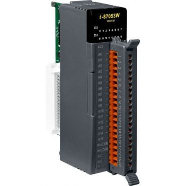16-channel AC Isolated Digital Input Module with 16-bit Counters