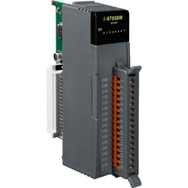 8-channel 80-250V AC Isolated Digital Input Module with 16-bit Counters