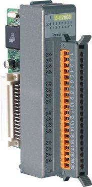 8-channel DC SSR Output Module (Gray Cover)