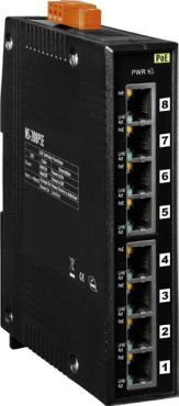 Unmanaged 8-Port Industrial 10/100 Mbps PoE(PSE) Ethernet Switch