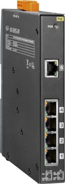 NS-205PSE-24V CR	Unmanaged 5-Port 10/100 Mbps PoE(PSE) Ethernet Switch; 24 VDC Input