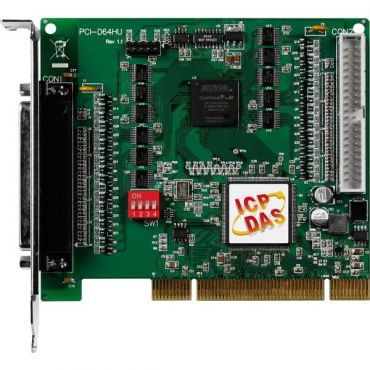 40 MB/s High-speed 32-CH DI and 32-CH DO Universal PCI DIO Card