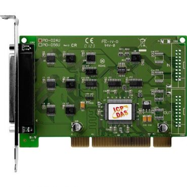 Universal PCI bus, 24-channel DIO board