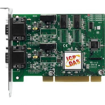2-Port Isolated Protection Universal PCI CAN Card with 9-Pin D-Sub Connector