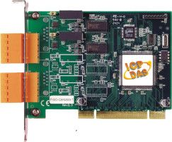 2-Port Isolated Protection Universal PCI CAN Card with 5-Pin Screw Terminal Connector