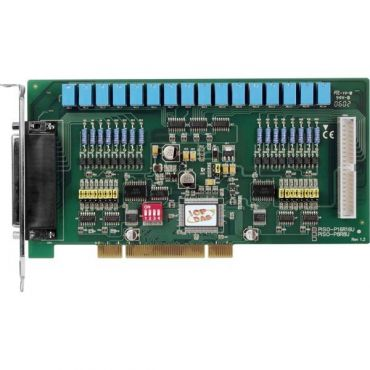 Universal PCI, 16-channel Isolated Digital Input, 16-channel Relay Output