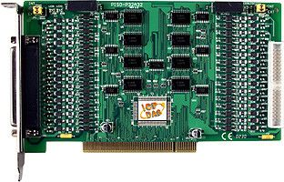 32-channel Optically Isolated Digital Input (Logic High: 5~12 V) and 32-channel Optically Isolated Digital Open Collector Output Board (Current Sourcing, PNP type)