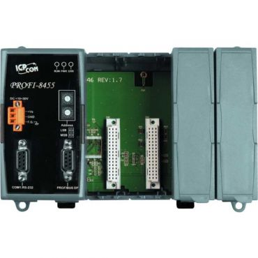 Profibus Remote I/O Unit with 4 Expansion Slots