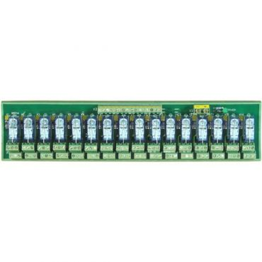 RM-216 16-channel DIN-Rail mounting power relay module, 2 form C