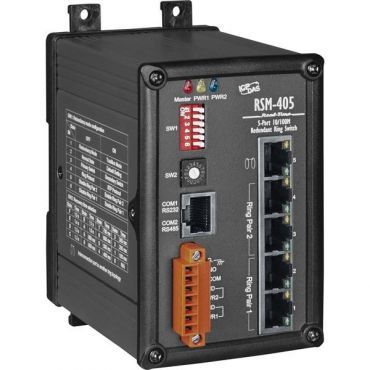 RSM-405 CRIndustrial Ethernet Real-time-ring Switch(Metal case)