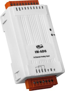 ICPDAS tM-AD8 - 8-channel Isolated Analog Input Module with High Voltage Protection