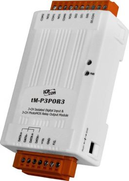 tM-P3POR3 - 3-channel Isolated Digital Input and 3-channel PhotoMOS Relay Output Module (RoHS)
