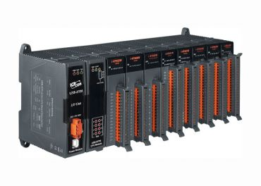 Intelligent USB I/O expansion unit with 8 slots (Gray Cover)