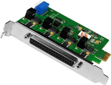PCI Express, Serial Communication Board with 4 Isolated RS-232 ports