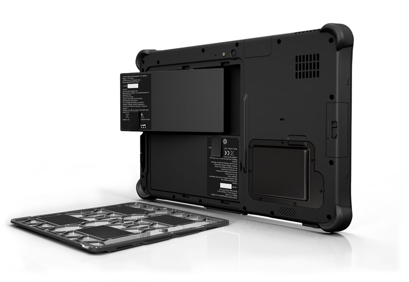 Getac F110 Fully Rugged Tablet - Dual Battery