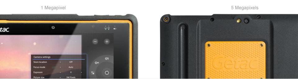 Getac Z710 Dual Cameras