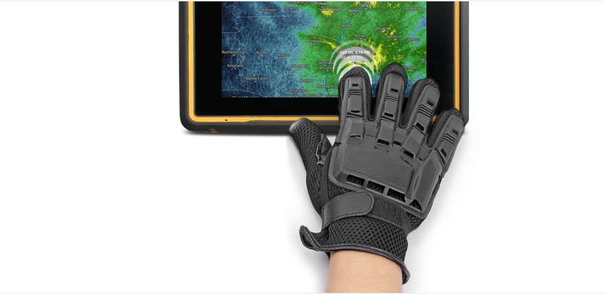 GETAC Z710-EX Handschoenvriendelijk Multi Touch Display