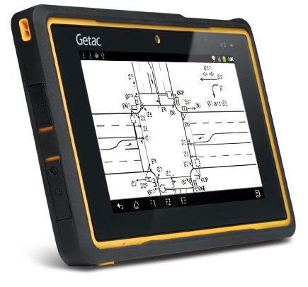 Getac Z710-EX Volledig Robuuste Android ATEX Tablet