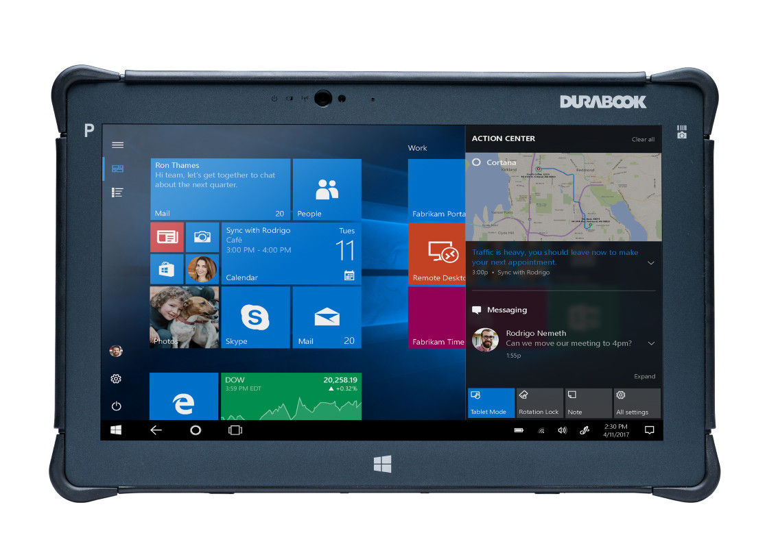 Durabook R11 G3 - Fully Rugged Tablet