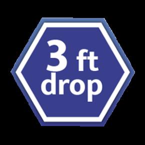 S15AB 90 cm drop resistant
