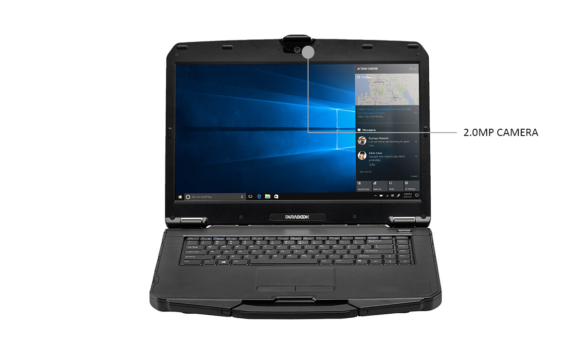 Durabook S15AB G2 Front