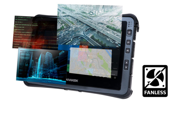 Durabook U11i Fanless rugged tablet