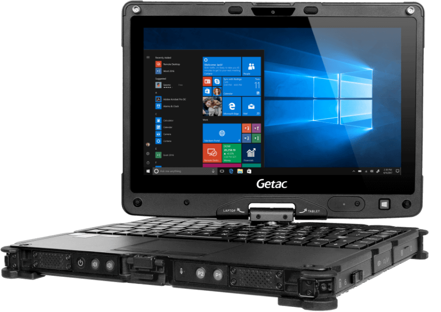Getac V110 G5 Full Rugged Convertible tablet